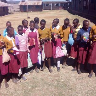 Empowering schoolgirls through sanitation