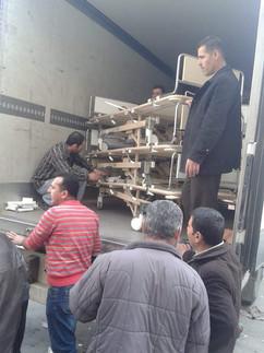 Syyrian Shahbassa sängyt määränpää