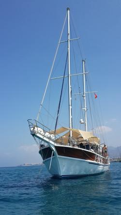 Cyprus Boat Trip Bateau Chipre Locat