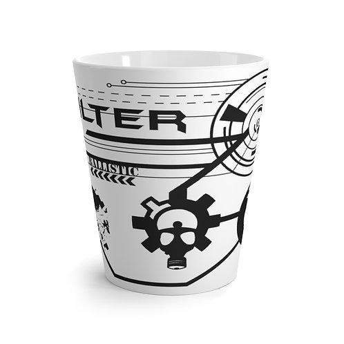 """Latte mug """"Ballistic Design"""""""