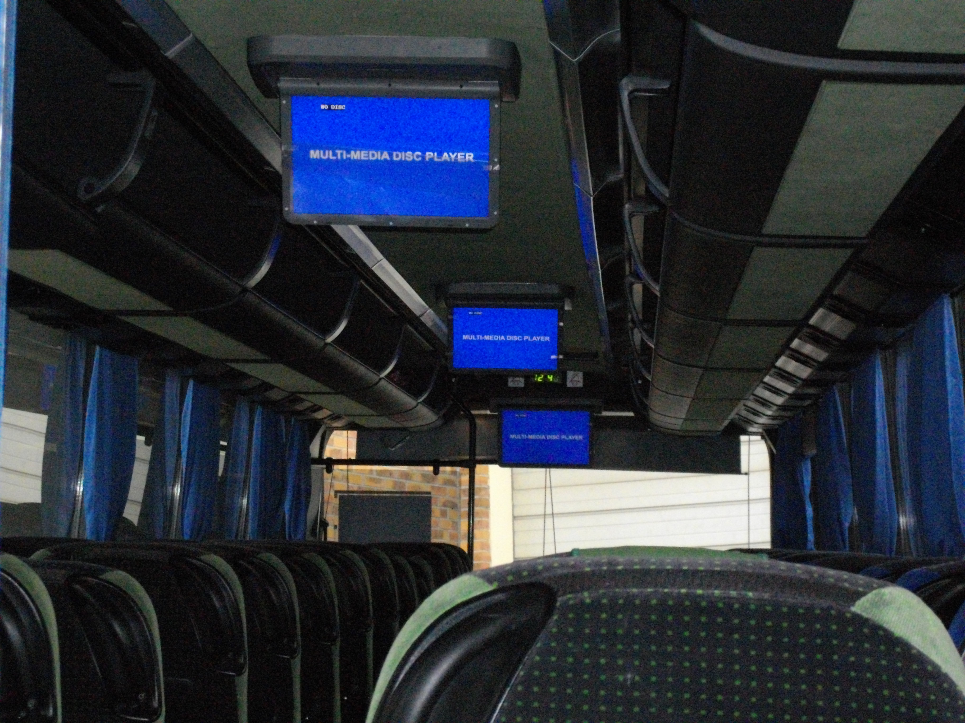 3 LCDs MOTORISES