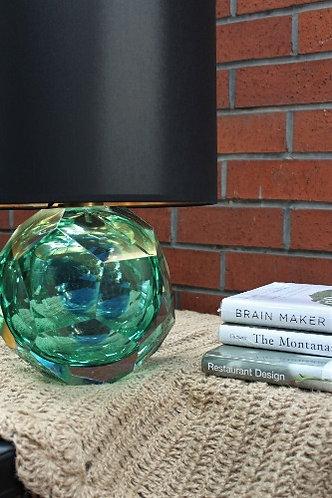 Emerald Abajur - Yeşil Mavi