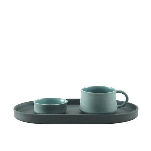 Black & Turquoise - Türk Kahvesi Seti