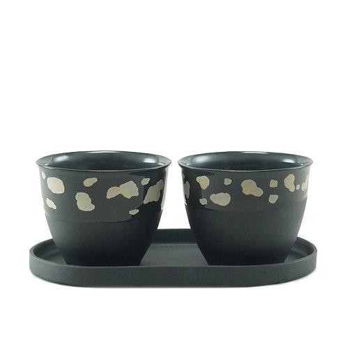 Black & White Dalmatia - Çay&Kahve Seti