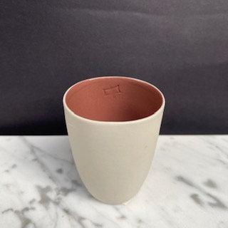Espresso Bardağı - Naturel / Gül Kurusu