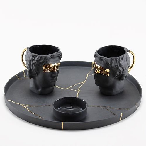Kintsugi Sculpture Espresso / Türk Kahvesi Seti