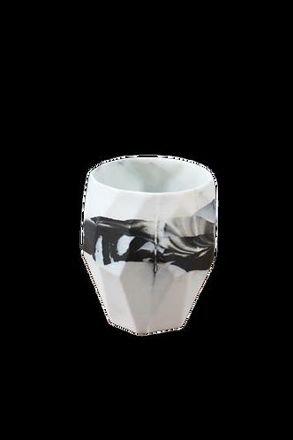 Porcelain Smoky Diamond Glass