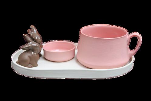 Tavşan / Ekru-Teal