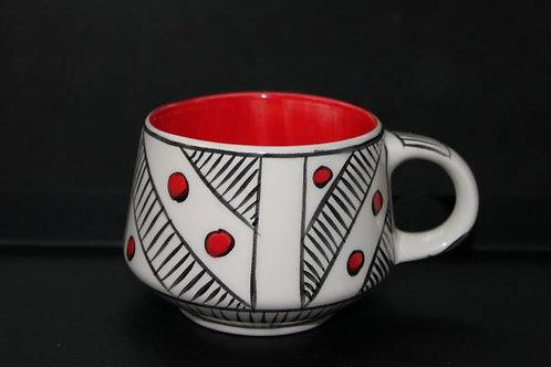 Nude Mug IV - Kırmızı