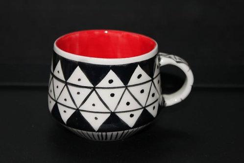 Nude Mug II - Kırmızı