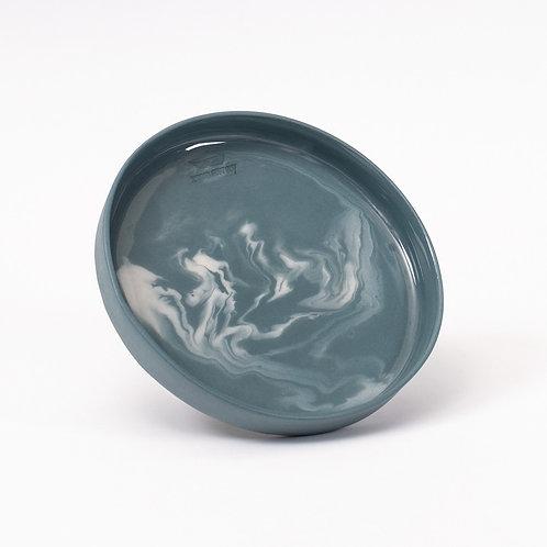 Smoky Cookie Plate -Yeşil