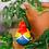 Thumbnail: Beaky Heykelcik - Kırmızı Macav