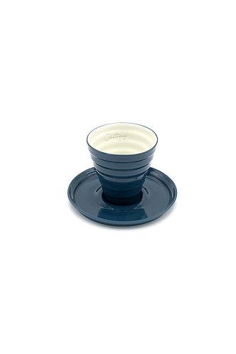 Joy Espresso Bardağı - Petrol Mavi