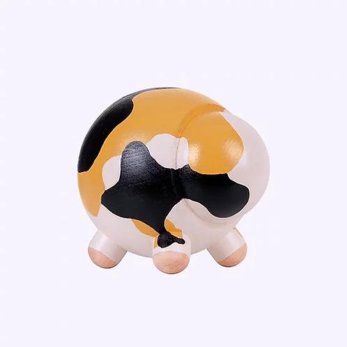 Podgy Heykelcik - Calico Kedi