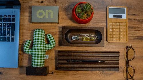 Woody Üçlü Set (Yeşil- Açık Kahverengi)