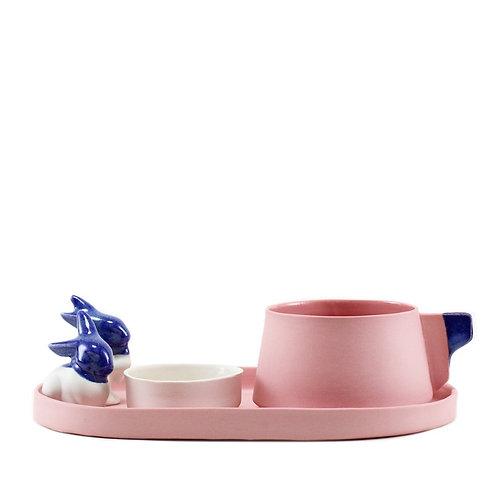 Blue Rabbit Filtre Kahve Seti