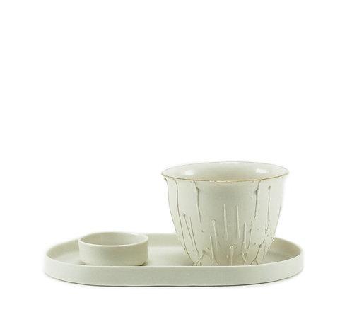 Pure White Drop Çay & Kahve Seti