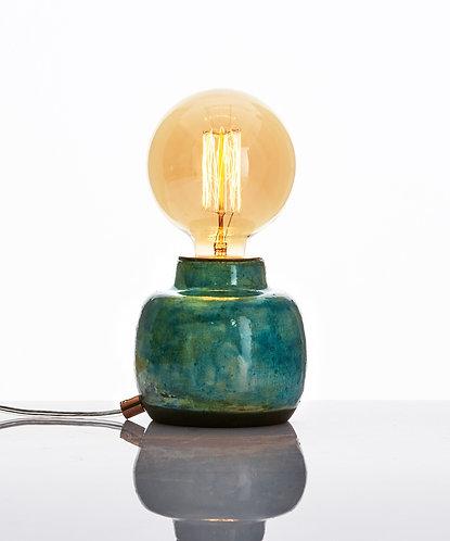 Terra Lamp - Raku Mavi