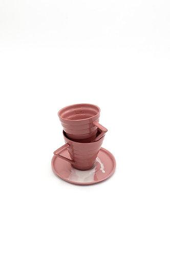Joy Türk Kahvesi Seti - Pembe