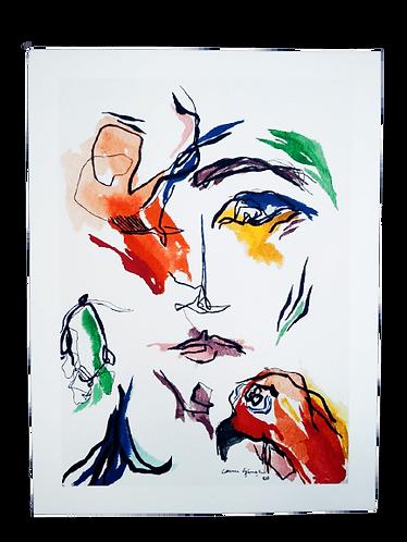 Bird Baskı