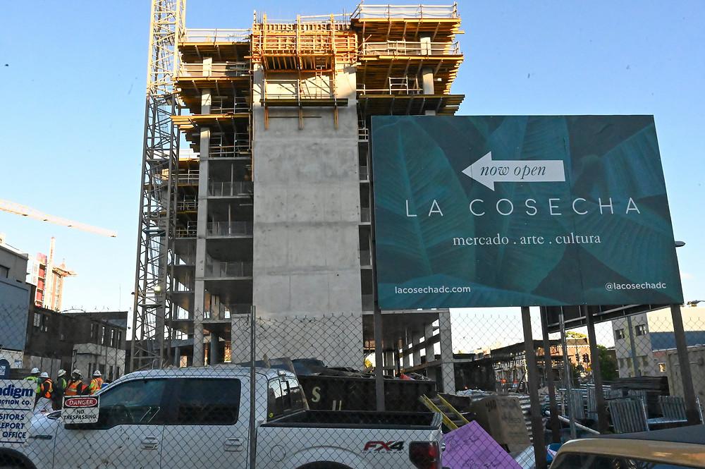 Union Market construction, 400 Florida Avenue, NE, Washington DC, SK+I Architecture, Paradigm Construction, commercial real estate, La Cosecha