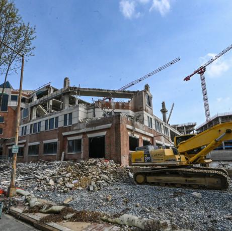 Demolition Begins at 4000 Wisconsin