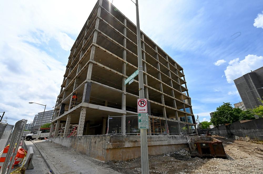 WMATA headquarters, Jair Lynch, Gilbane Building Company, southwest, Studios Architecture