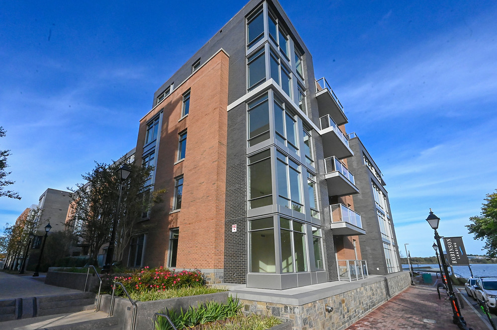 Robinson Landing, Old Town Alexandria, EYA, Donohoe construction, Shalom Baranes architect, commercial real estate for rent