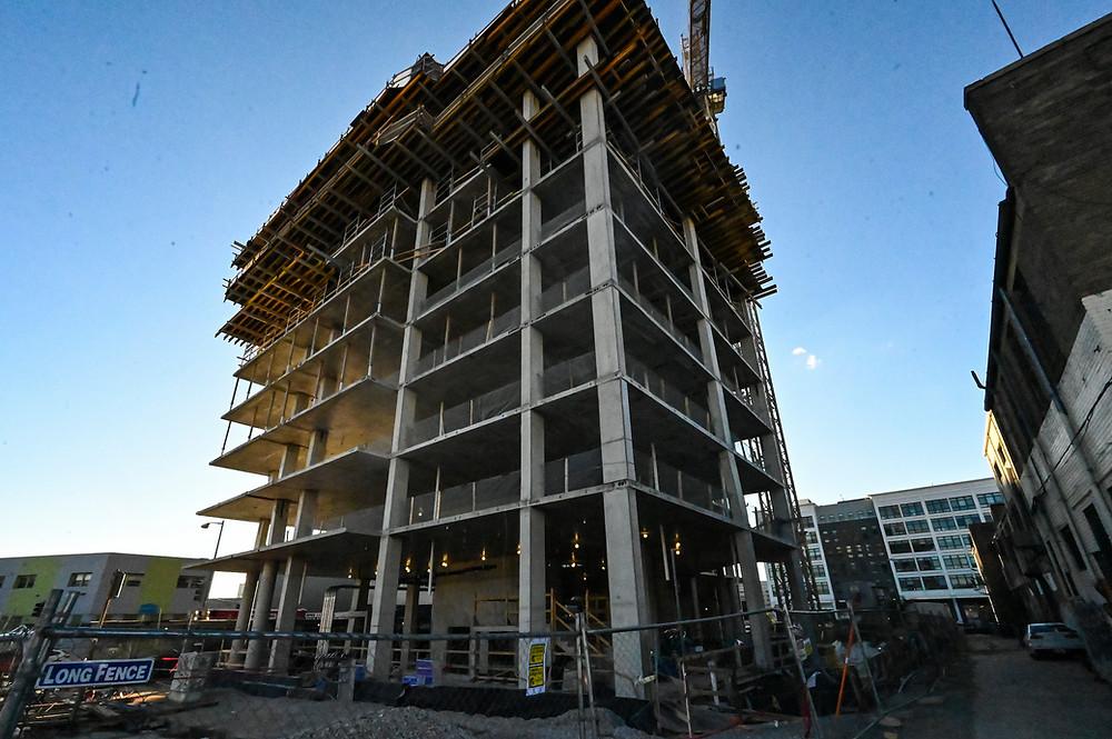 Union Market construction, Washington DC, SK+I Architecture, Paradigm Construction, commercial real estate, 400 Florida Avenue, NE