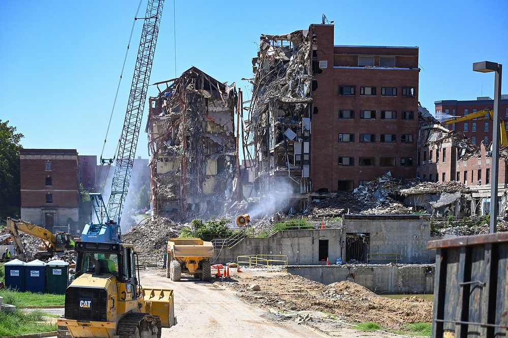 Washington D.C. retail and real estate development news - DC General Hospital demolition