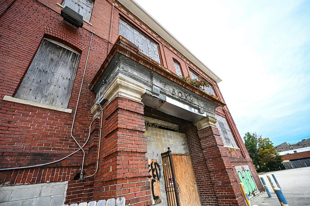 Abandoned commercial property, Washington DC