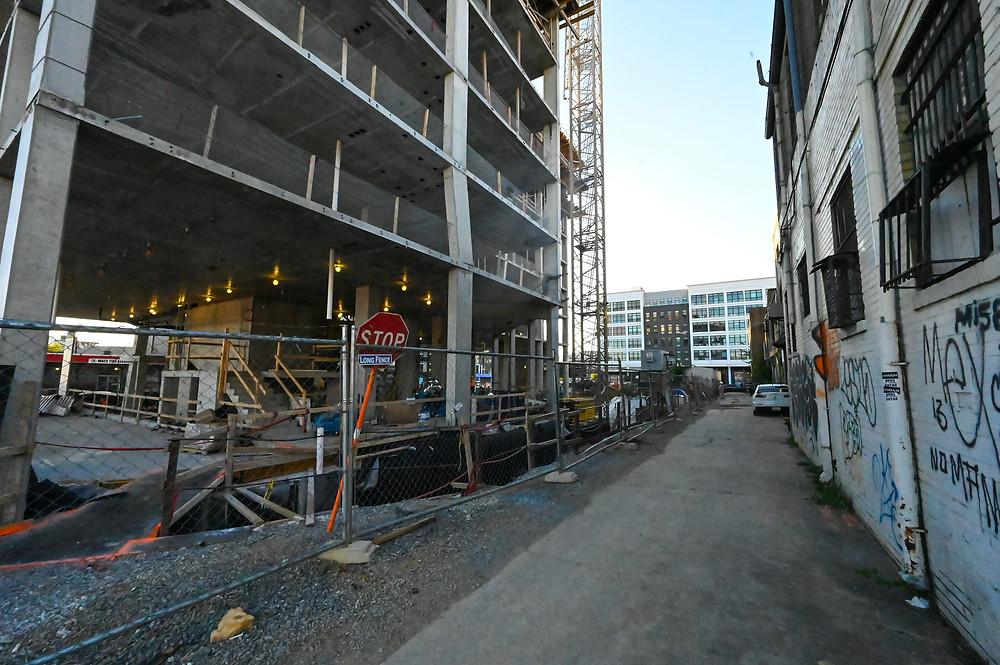 Union Market construction, 400 Florida Avenue, NE, Washington DC, SK+I Architecture, Paradigm Construction, commercial real estate, retail for lease