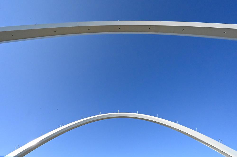 Washington DC Frederick Douglass Memorial Bridge Anacostia River