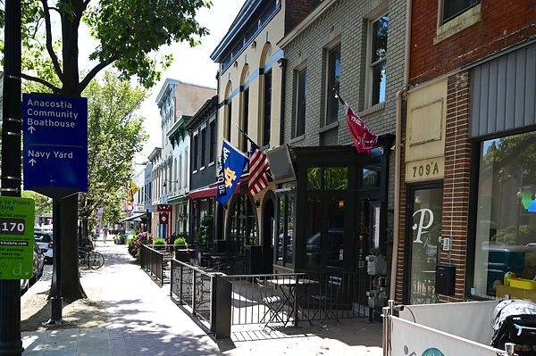 Washington DC Barracks Row Retail for lease
