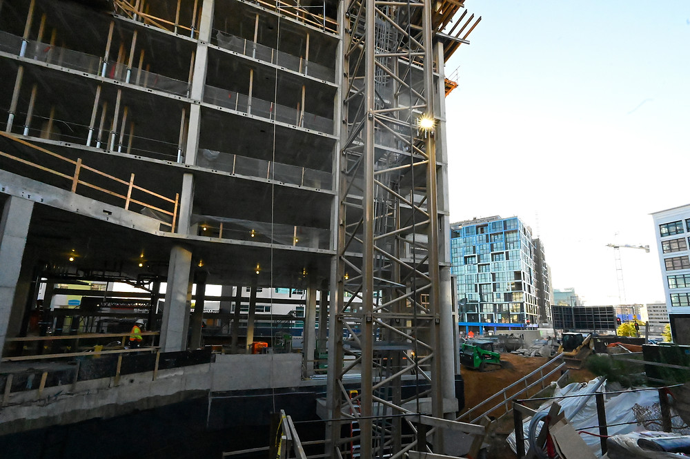 Union Market construction, 400 Florida Avenue, NE, Washington DC, SK+I Architecture, Paradigm Construction, commercial real estate