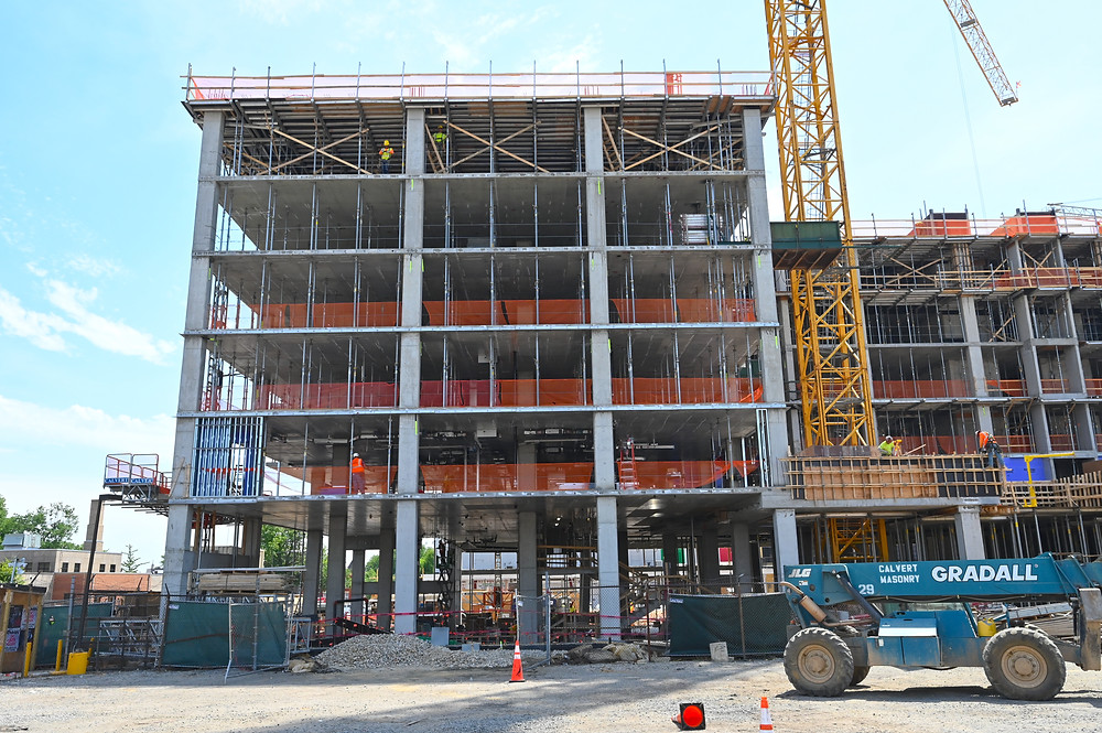 construction updates Washington DC