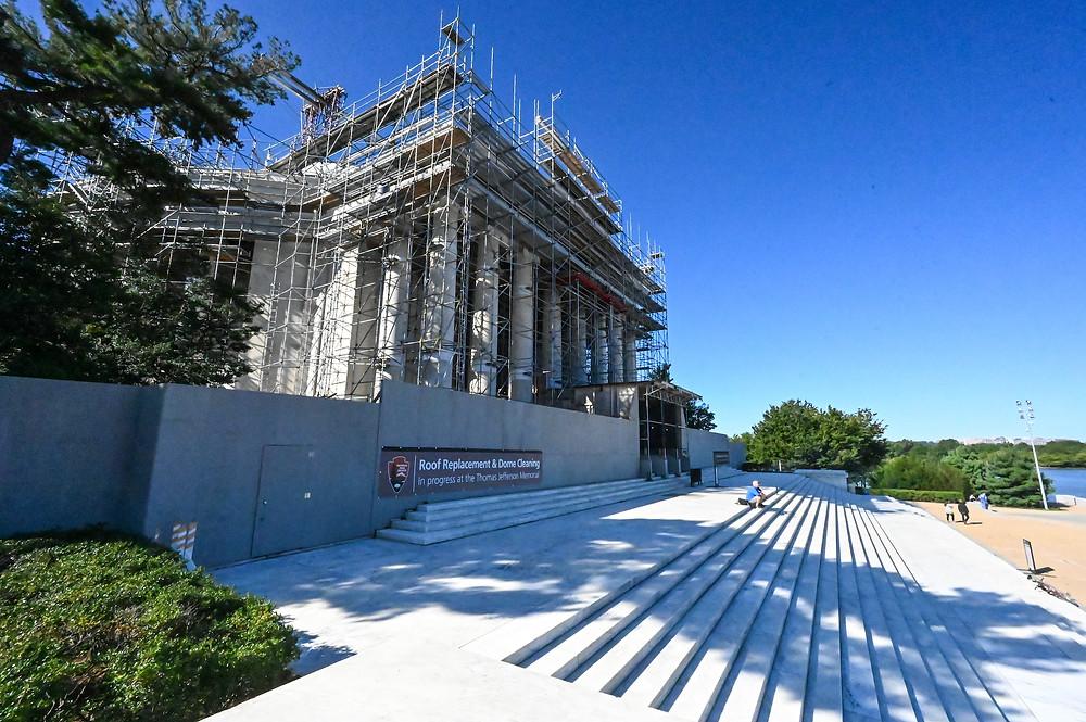 Jefferson Memorial renovation, National Park Service, Grunley construction