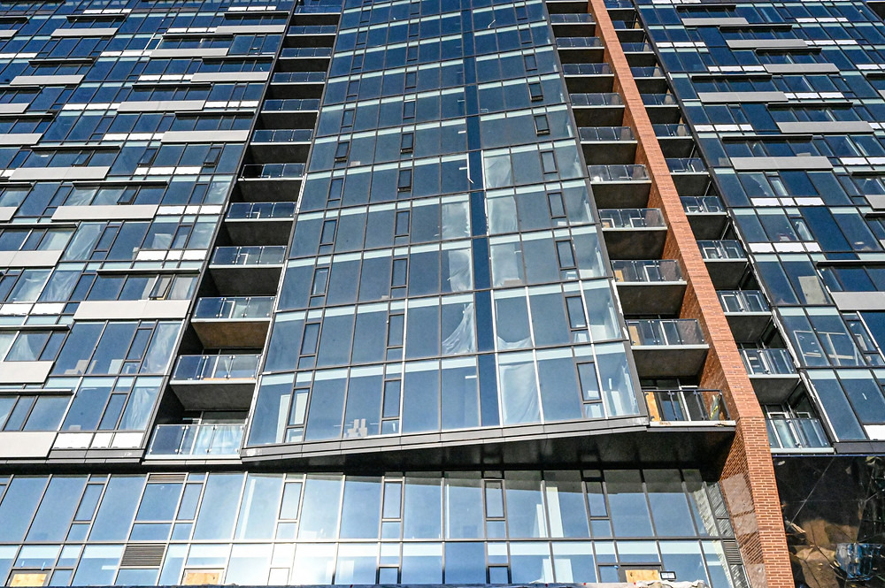 new mixed use apartment building in Bethesda
