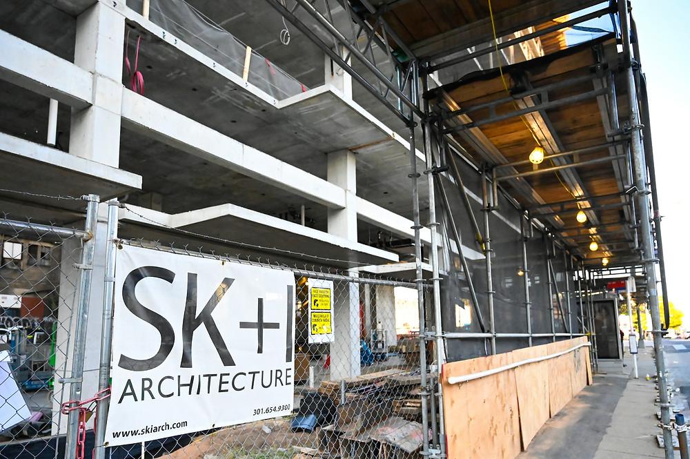 SKI Architecture, retail for lease, Union Market construction, 400 Florida Avenue, NE, Washington DC, SK+I Architecture, Paradigm Construction, commercial real estate