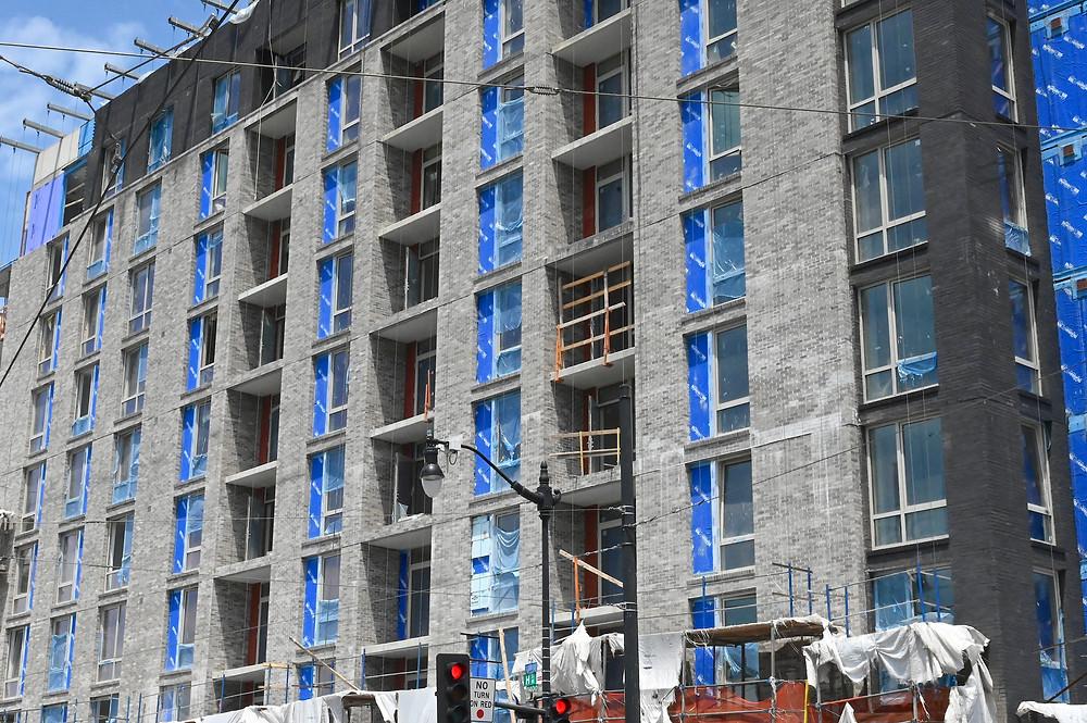 Washington DC Development update: Delta Towers, Gilbane Construction, Bozzuto Construction, Dantes Partners, KGD Architecture