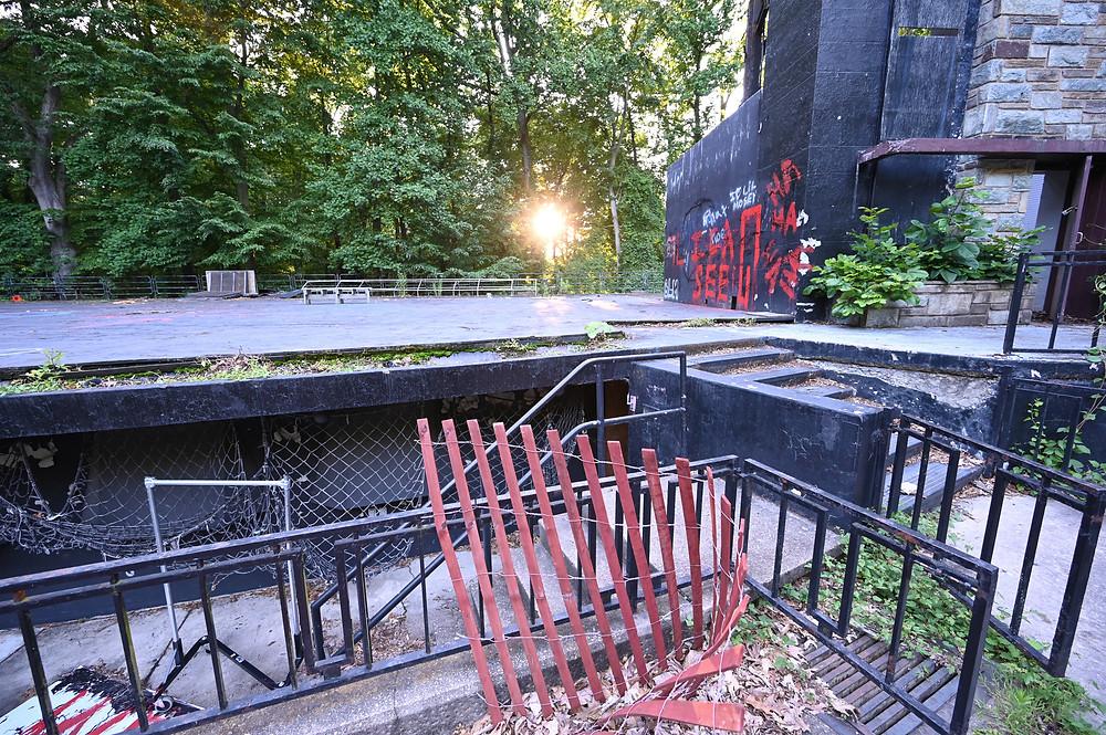 Washington DC urban decay, national park service