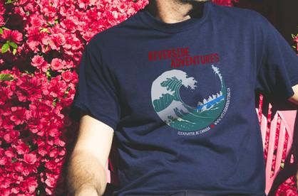 Riverside Adventures Shirt Design