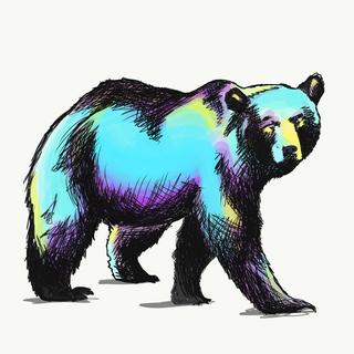 hypercolour bear