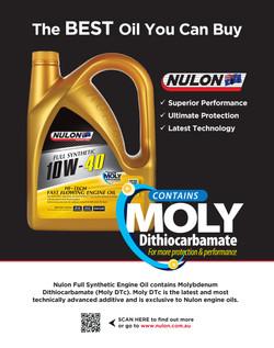 Nulon print advert design