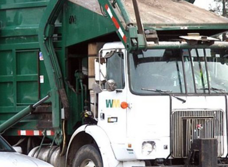 A Graphic Garbage Truck?