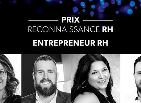 Evō Conseils et sa présidente finaliste au prix Entrepreneure RH de l'année