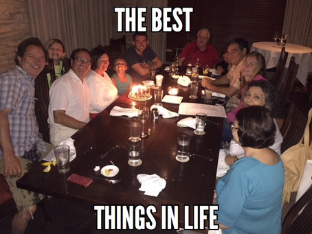SUNDAY SPECIAL: The Best Things in Life