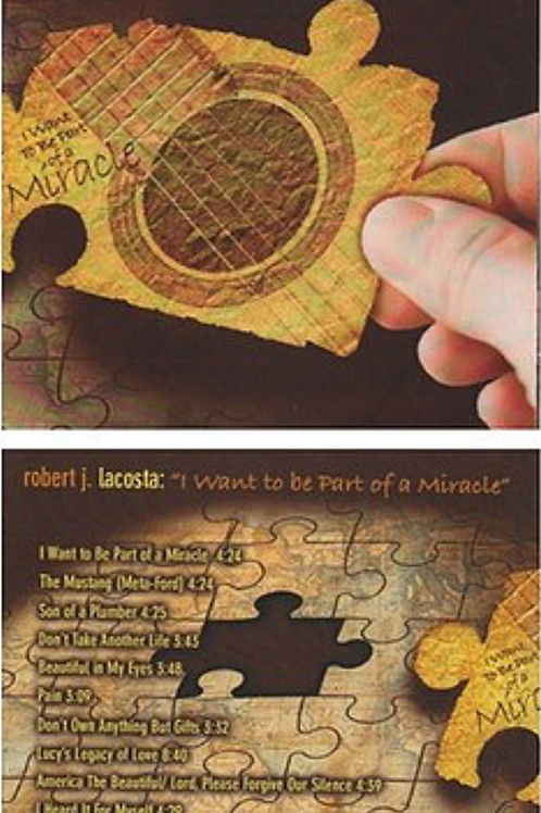 I Want to Be Part of a Miracle - CD