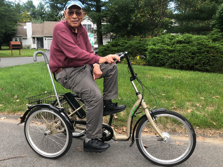 How One Octogenarian Is Driving A Movement to Keep Seniors Mobile, Exercised & Outdoors