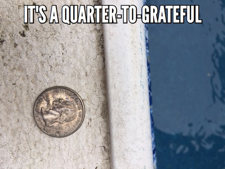 It's a Quarter-to-Fall